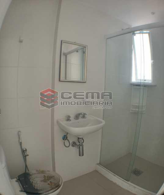 Banheiro suíte - Apartamento 1 quarto para alugar Catete, Zona Sul RJ - R$ 2.700 - LAAP10907 - 11