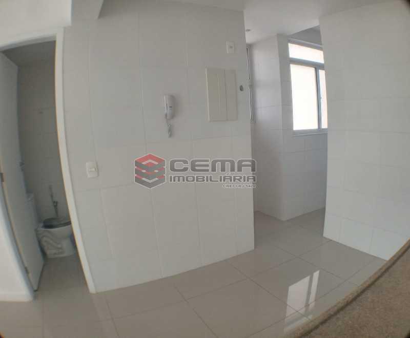 Cozinha  - Apartamento 1 quarto para alugar Catete, Zona Sul RJ - R$ 2.700 - LAAP10907 - 16