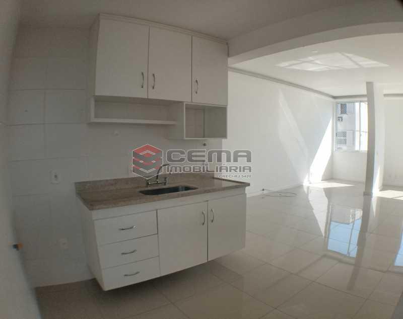 Cozinha  - Apartamento 1 quarto para alugar Catete, Zona Sul RJ - R$ 2.700 - LAAP10907 - 13