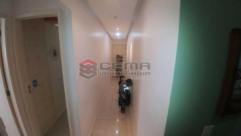 HALL - Apartamento à venda Rua do Catete,Catete, Zona Sul RJ - R$ 850.000 - LAAP21530 - 7