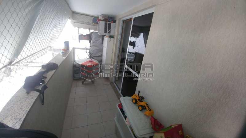 VARANDA - Apartamento à venda Rua do Catete,Catete, Zona Sul RJ - R$ 850.000 - LAAP21530 - 5