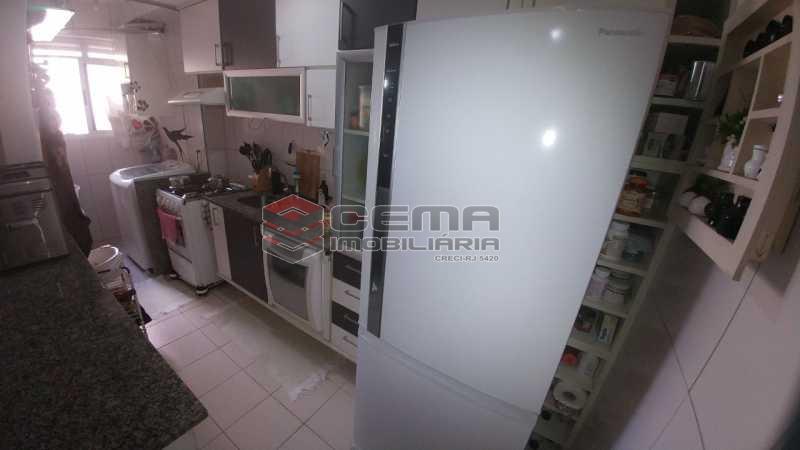 COZINHA, - Apartamento à venda Rua do Catete,Catete, Zona Sul RJ - R$ 850.000 - LAAP21530 - 16