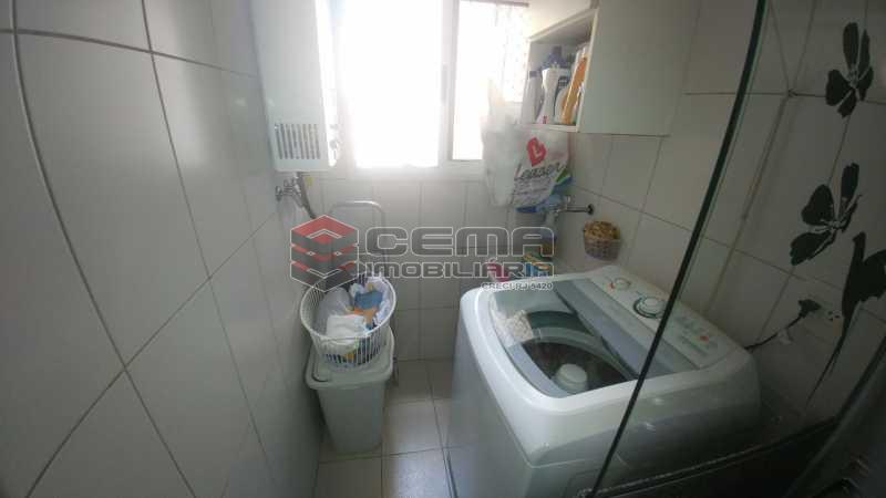 ÁREA - Apartamento à venda Rua do Catete,Catete, Zona Sul RJ - R$ 850.000 - LAAP21530 - 17