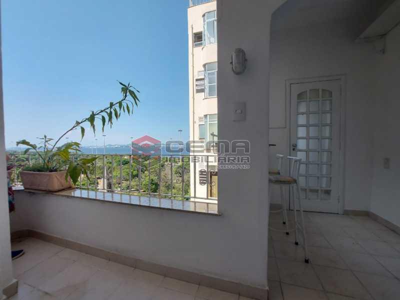 varanda - Apartamento 2 quartos para alugar Flamengo, Zona Sul RJ - R$ 4.000 - LAAP21539 - 1