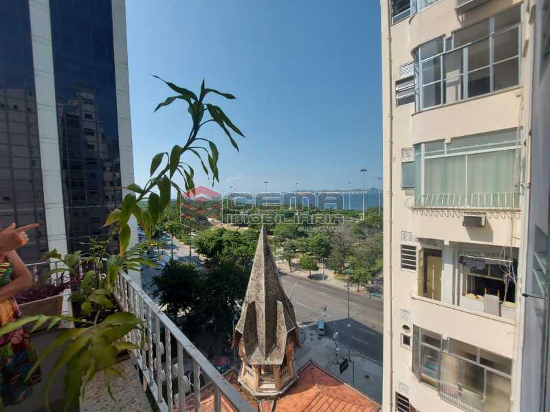 vista - Apartamento 2 quartos para alugar Flamengo, Zona Sul RJ - R$ 4.000 - LAAP21539 - 3