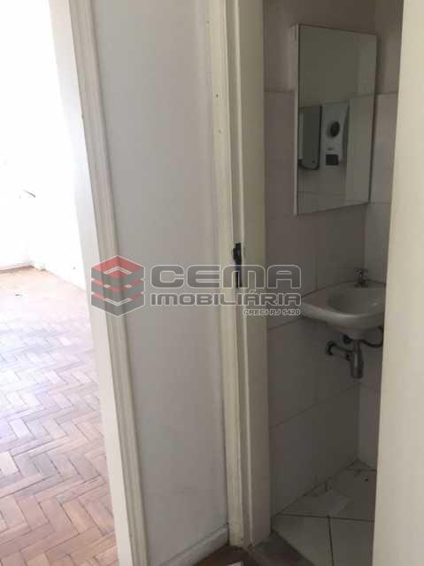 Banheiro - Sala Comercial 21m² para alugar Centro RJ - R$ 500 - LASL00156 - 8