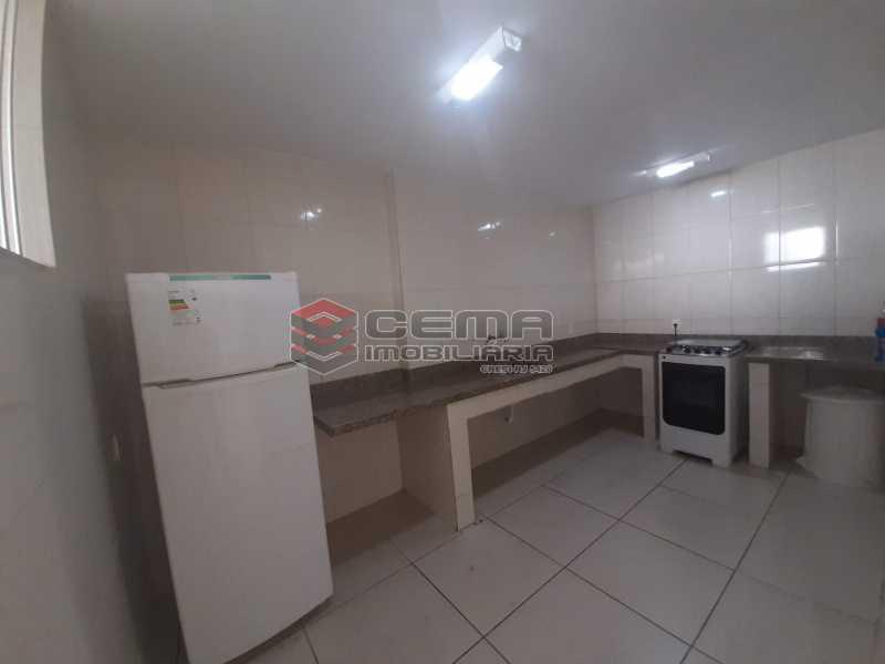 cozinha salão de festas - Apartamento 2 quartos à venda Copacabana, Zona Sul RJ - R$ 599.000 - LAAP21585 - 19