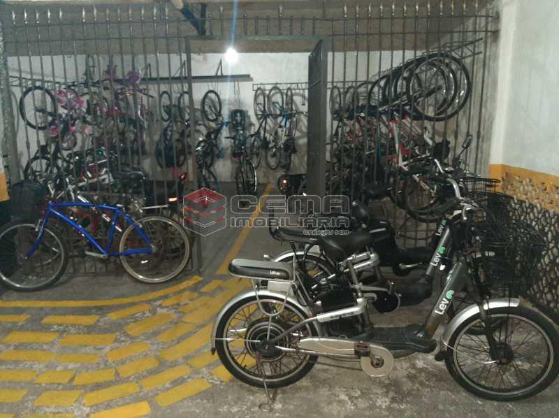 bicicletário - Apartamento 2 quartos à venda Copacabana, Zona Sul RJ - R$ 599.000 - LAAP21585 - 21