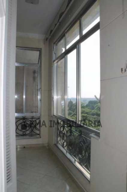 Varanda - Apartamento à venda Rua do Russel,Glória, Zona Sul RJ - R$ 1.297.000 - LA33684 - 3