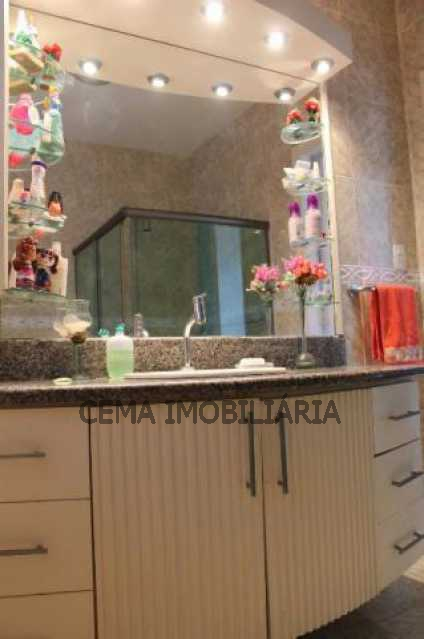 Banheiro - Apartamento À Venda - Glória - Rio de Janeiro - RJ - LA33684 - 16