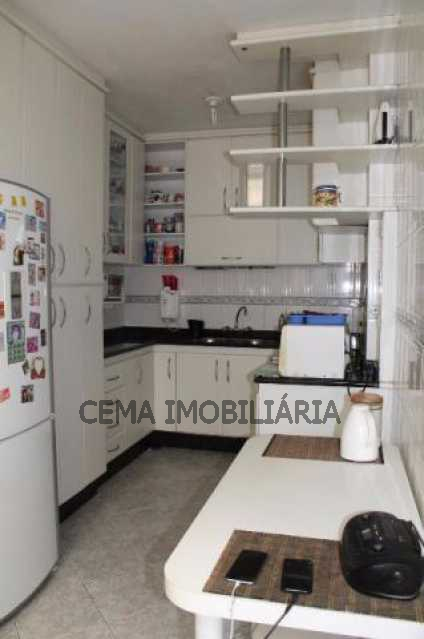 Cozinha - Apartamento à venda Rua do Russel,Glória, Zona Sul RJ - R$ 1.297.000 - LA33684 - 19