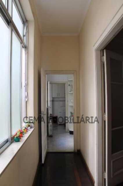 Circulação - Apartamento à venda Rua do Russel,Glória, Zona Sul RJ - R$ 1.297.000 - LA33684 - 21