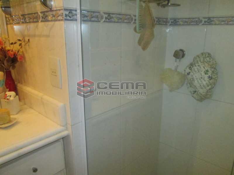 Banheiro - Apartamento À VENDA, Laranjeiras, Rio de Janeiro, RJ - LAAP31374 - 16