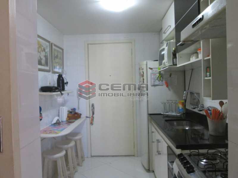 Cozinha - Apartamento À VENDA, Laranjeiras, Rio de Janeiro, RJ - LAAP31374 - 18