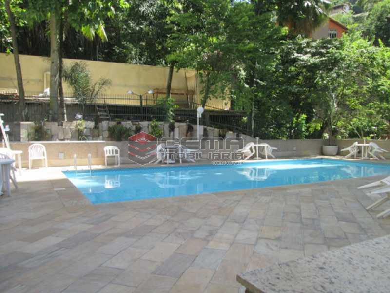 Piscina - Apartamento À VENDA, Laranjeiras, Rio de Janeiro, RJ - LAAP31374 - 26