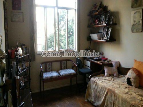 QUARTO 1 - Apartamento 3 quartos à venda Laranjeiras, Zona Sul RJ - R$ 1.200.000 - LA33705 - 4