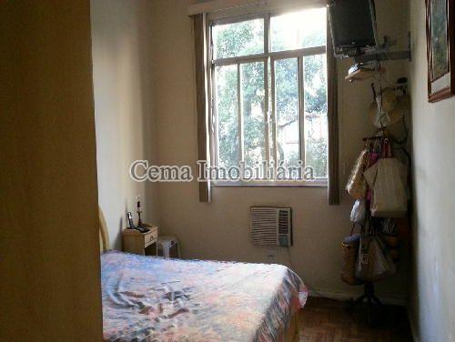 QUARTO 2 - Apartamento 3 Quartos À Venda Laranjeiras, Zona Sul RJ - R$ 1.200.000 - LA33705 - 5