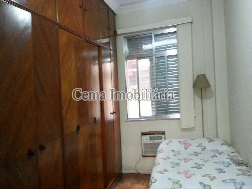 QUARTO 3 ANG. 1 - Apartamento 3 Quartos À Venda Laranjeiras, Zona Sul RJ - R$ 1.200.000 - LA33705 - 7