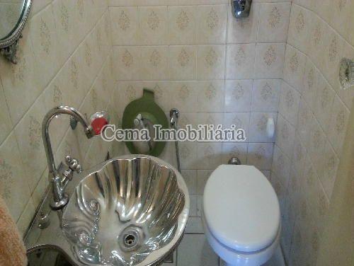 LAVABO - Apartamento 3 quartos à venda Laranjeiras, Zona Sul RJ - R$ 1.200.000 - LA33705 - 9