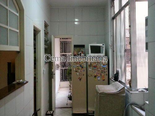 COZINHA  ANG. 1 - Apartamento 3 quartos à venda Laranjeiras, Zona Sul RJ - R$ 1.200.000 - LA33705 - 11