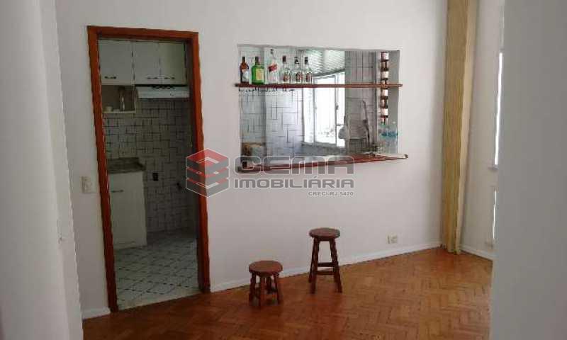 sala - Apartamento à venda Rua Macedo Sobrinho,Humaitá, Zona Sul RJ - R$ 749.000 - LAAP21683 - 1
