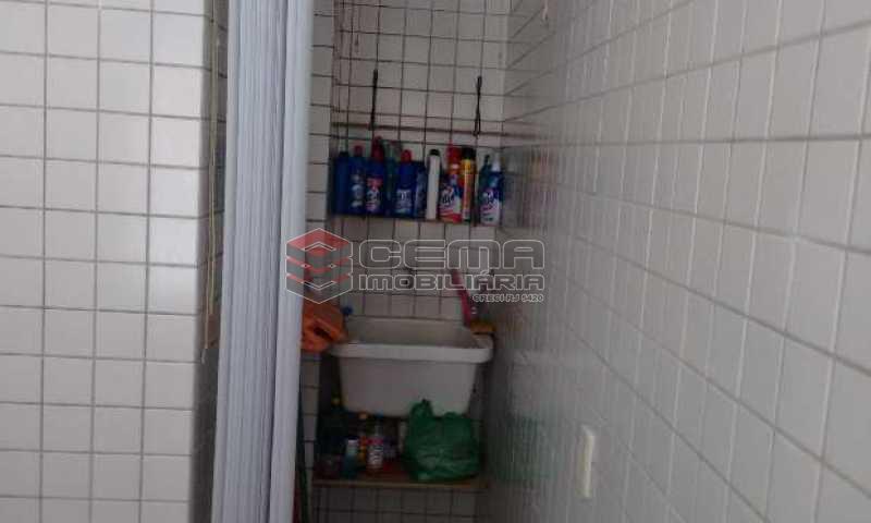 area - Apartamento à venda Rua Macedo Sobrinho,Humaitá, Zona Sul RJ - R$ 749.000 - LAAP21683 - 12