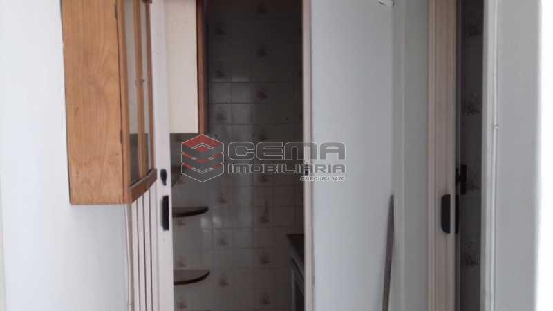 Banheiro  - Apartamento à venda Rua Benjamim Constant,Glória, Zona Sul RJ - R$ 318.000 - LAAP11027 - 18