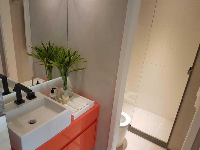 Urban Centro Banheiro decorado - Lançamento na Lapa - Rio de Janeiro - Ponto Turístico - LAAP10996 - 9