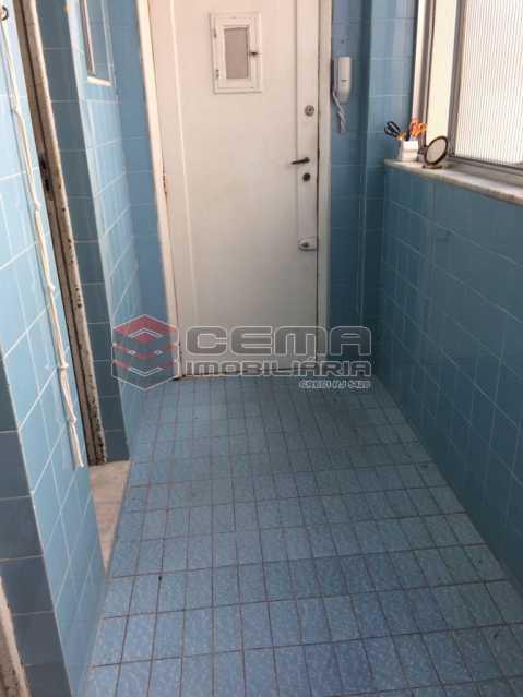 8-AREA 1. - Apartamento à venda Rua Buarque de Macedo,Flamengo, Zona Sul RJ - R$ 1.047.000 - LA33750 - 21
