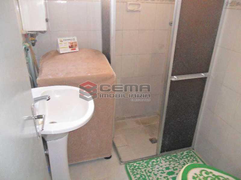 banheiro - Apartamento 1 quarto à venda Glória, Zona Sul RJ - R$ 430.000 - LAAP11069 - 15