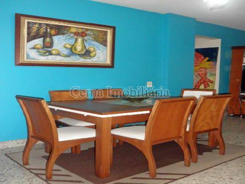 SALA JANTAR - Apartamento À Venda - Laranjeiras - Rio de Janeiro - RJ - LA33766 - 5