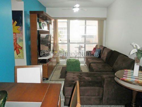 SALA  ESTAR - Apartamento À Venda - Laranjeiras - Rio de Janeiro - RJ - LA33766 - 6