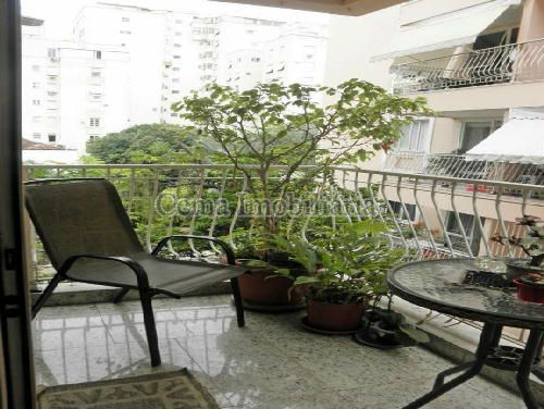 VARANDA - Apartamento À Venda - Laranjeiras - Rio de Janeiro - RJ - LA33766 - 4