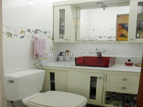BANHEIRO SOCIAL - Apartamento À Venda - Laranjeiras - Rio de Janeiro - RJ - LA33766 - 10