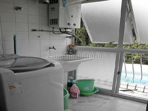 ÁREA DE SERVIÇO - Apartamento À Venda - Laranjeiras - Rio de Janeiro - RJ - LA33766 - 20