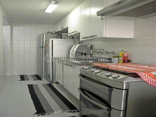 COZINHA ANG2 - Apartamento À Venda - Laranjeiras - Rio de Janeiro - RJ - LA33766 - 3