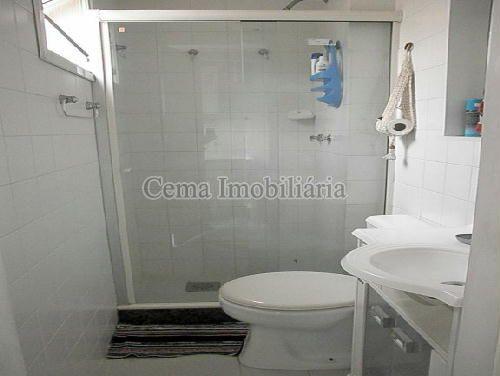 BANHEIRO EMPREGADA - Apartamento À Venda - Laranjeiras - Rio de Janeiro - RJ - LA33766 - 21