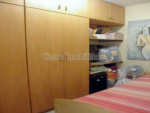 QUARTO EMPREGADA - Apartamento À Venda - Laranjeiras - Rio de Janeiro - RJ - LA33766 - 22