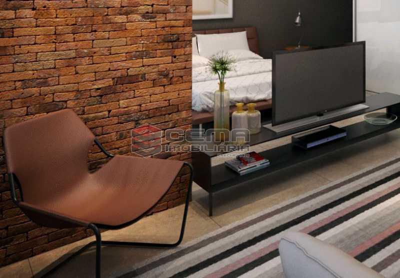 sala - Apartamento 1 quarto à venda Centro RJ - R$ 350.000 - LAAP11087 - 6