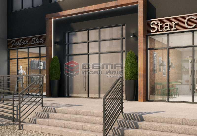 fotos fachada - Apartamento 1 quarto à venda Centro RJ - R$ 350.000 - LAAP11087 - 12