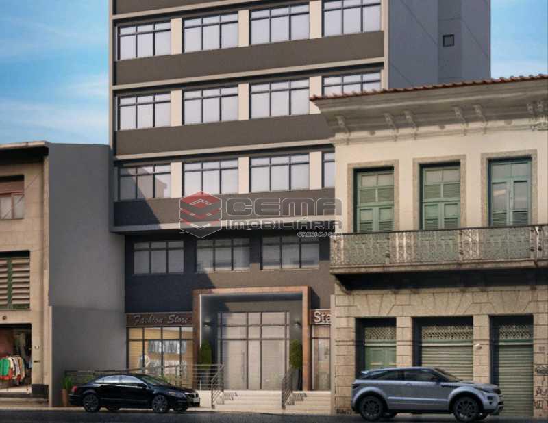 fotos do predio - Apartamento 1 quarto à venda Centro RJ - R$ 350.000 - LAAP11087 - 20