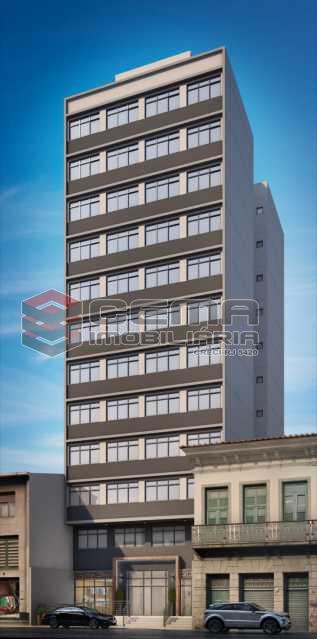 predio - Apartamento 1 quarto à venda Centro RJ - R$ 350.000 - LAAP11087 - 26