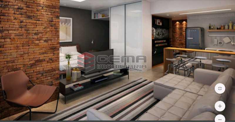 sala 4 - Apartamento 1 quarto à venda Centro RJ - R$ 350.000 - LAAP11087 - 28