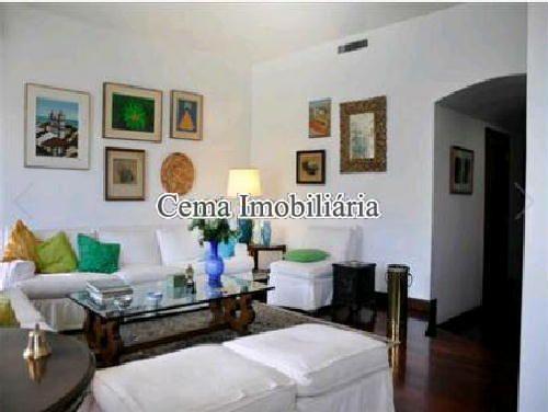 SALA ÂNG 3 - Apartamento À Venda - Lagoa - Rio de Janeiro - RJ - LA40423 - 6