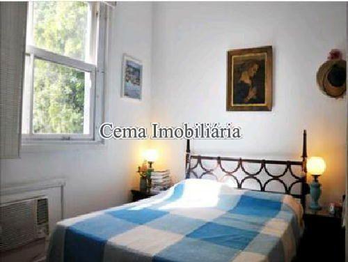QUARTO 1 - Apartamento 4 quartos à venda Lagoa, Zona Sul RJ - R$ 3.000.000 - LA40423 - 7