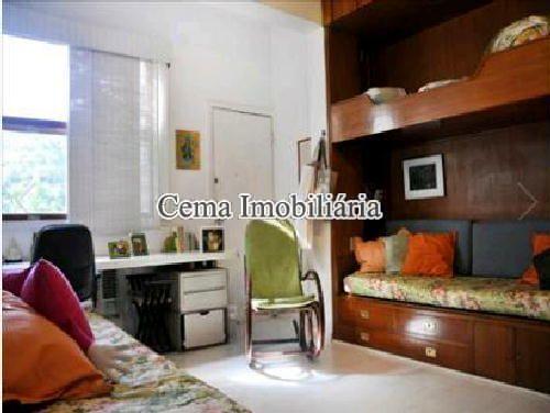 QUARTO 2 - Apartamento 4 quartos à venda Lagoa, Zona Sul RJ - R$ 3.000.000 - LA40423 - 8