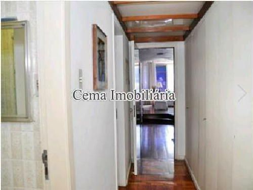 CIRCULAÇÃO - Apartamento 4 quartos à venda Lagoa, Zona Sul RJ - R$ 3.000.000 - LA40423 - 10