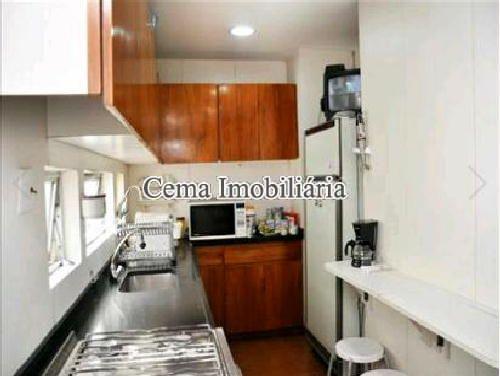 COZINHA - Apartamento À Venda - Lagoa - Rio de Janeiro - RJ - LA40423 - 12