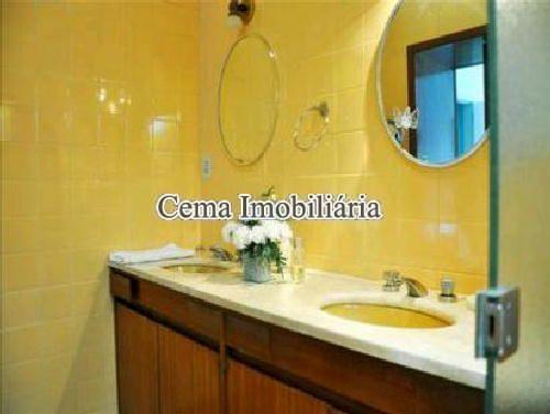 BANHEIRO - Apartamento 4 quartos à venda Lagoa, Zona Sul RJ - R$ 3.000.000 - LA40423 - 12