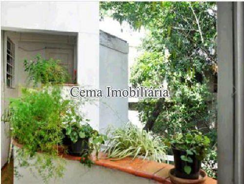 ÁREA EXTERNA - Apartamento À Venda - Lagoa - Rio de Janeiro - RJ - LA40423 - 14